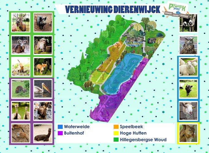 dierenwijck vernieuwing kaart