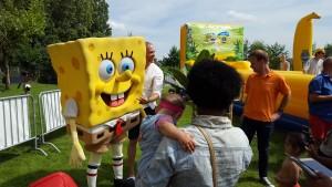 spongebob - nickelodeon buitenspeeldag